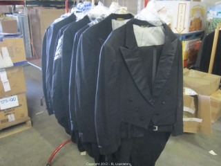 Tailed Black Tuxedos