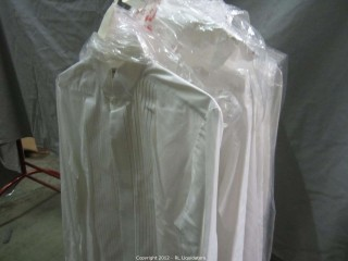 10-White Shirts; Pierre Cardin