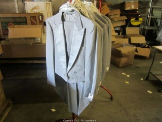 Tailed Gray Tuxedos-Bill Blass