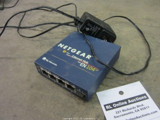 Netgear 4-Port Ethernet Hub