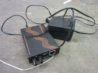 TEC 10/100 Base-T to 100 Bas-FX converter
