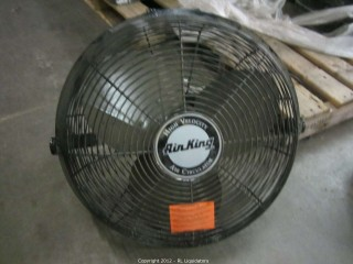 Used Blacked High Velocity Air King Fan
