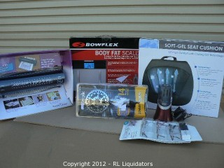 General Merchandise Lot Retail Value $1,182.13
