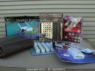 General Merchandise Lot Retail Value $971.48