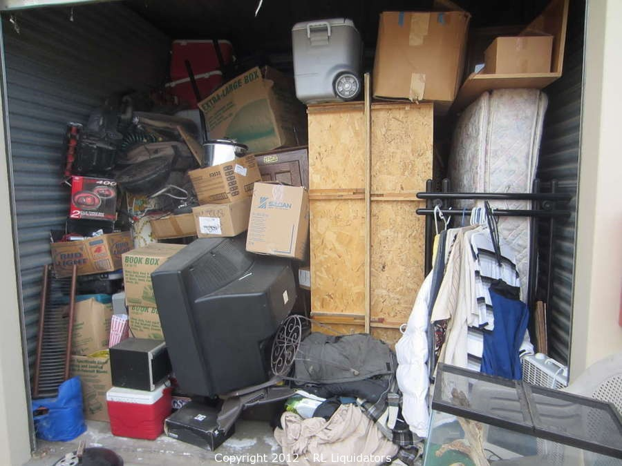 Gold Country Self Storage Lien Sale Auction
