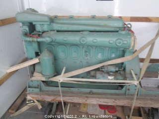 WWII Era Rebuilt Gray Marine 6-71 Detroit Diesel Motor