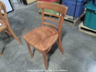 Solid Wood Restaurant Chair - Great Condition