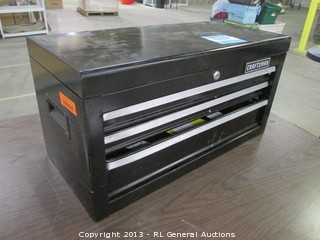 Craftsman tool box, small dent in front- Model 706 310170