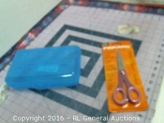 Organizer and scissors