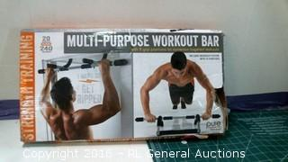 Multi Purpose Workout bar