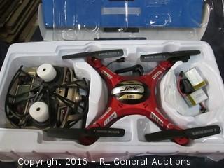 H8D quadcopter