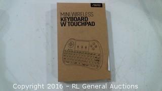 Mini Wireless Keyboard W touchpad