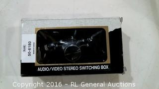Rohs Autio/ Video Stereo Switching box