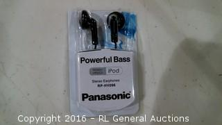 Pwerful Bass Stereo Earphones Panasonic