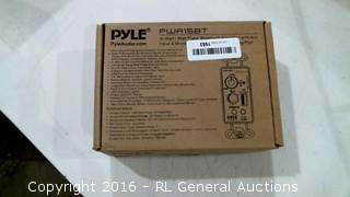 Pyle In-wall/Wall Plate bluetooth Amplifier with Aux