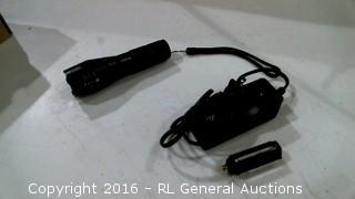 Cree Flashlight powers on see pics