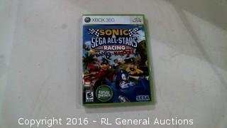 XBOX 360 Sonic Racing