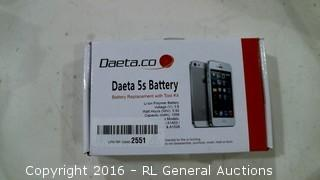 Daeta 5s Battery battery replacement with tool kit