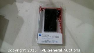 Motorola power pack slim 5100 Portable Battery