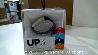 UP3 Jawbone Wireless Activity Sleep and heart rate tracker