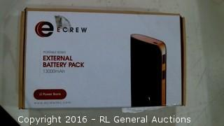 Ecrew Portable Series External Battery Pack