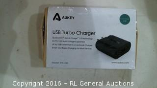 AUKEY USB Turbo charger