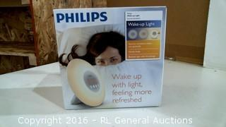 Philips Wake up Light powers on see pics please preview