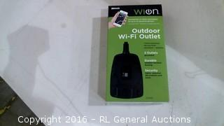 WION Outdoor Wi Fi Outlet