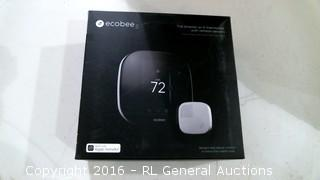 ecobee The Smarter wi fi thermostat with remote sensors