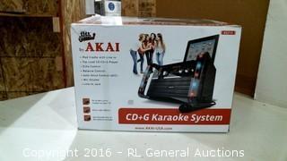 Akai CD+G Karaoke System