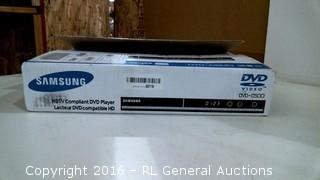 Samsung HDTV Compliant DVD Player Powers on Please Preview