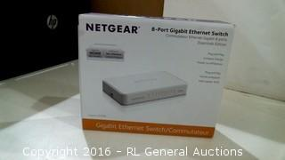 Netgear 8 Port Gigabit Ethernet Switch