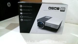 LED PRojector Powers on Please PReview