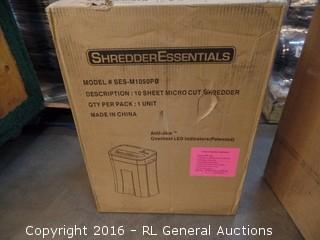 10 Sheet Paper Shredder Factory Sealed