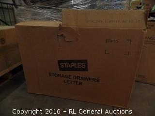 Storage Drawer Letter
