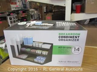 Breakroom Condiment Organizer