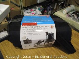 Padded Car seat travel bag