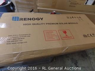 Renogy High quality Premium Solar Modula Package Damaged New In Box