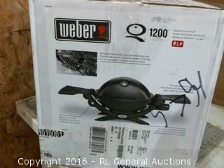Weber Outdoor gas grill