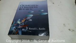Optimization in Operations Reseach