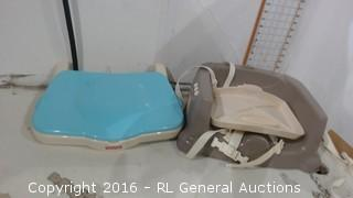Baby seat and tray