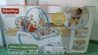 Fisher Price Infant ti toddler rocker
