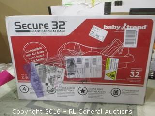 Secure 32 Infant Car Seat Base
