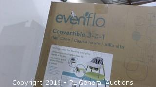 evenflo Hight chair 3 in1