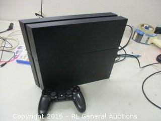 PS4 System (No Power,Damaged)