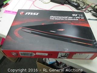 MSI G72 Dominator Pro ( No Power, Rattles Inside)