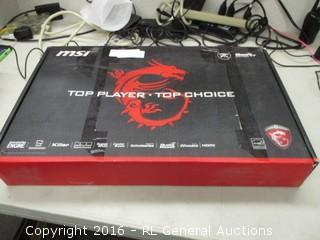 MSI Gaming Series (No Power, Damaged)