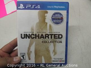 PS4 Uncharted Game