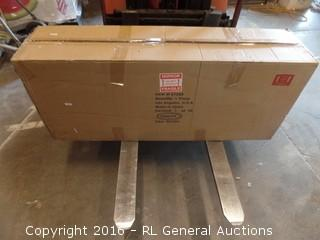 Wood Console table Package Damage New in Box