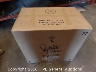 Signature Table D'Extremite Package Damaged New in Box